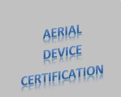 Aerial Device Certification