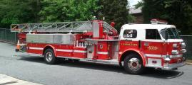 Lexington Fire Truck