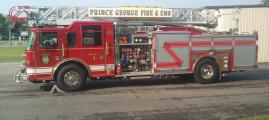 Prince George Fire Truck